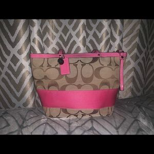 ✰HOT PINK COACH BAG✰